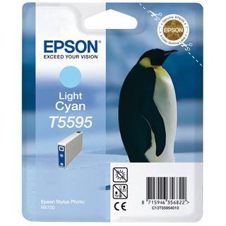 Epson Tinte C13T55954010 cyan hell