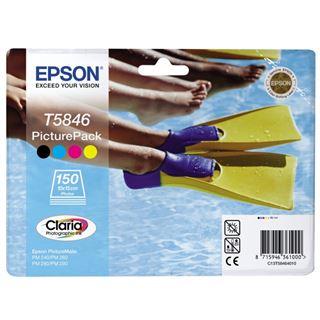 Epson Tinte C13T58464010 schwarz, cyan, magenta, gelb
