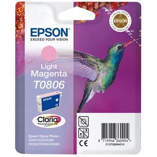 Epson Tinte T0806 C13T08064010 magenta hell