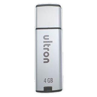 4 GB Ultron MLC silber USB 2.0