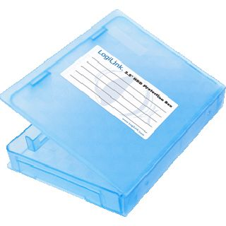"""LogiLink Schutz-Box Hülle für 2,5"""" Festplatten (UA0131)"""