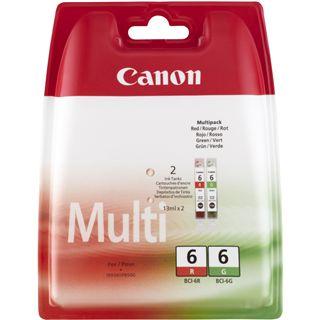 Canon Tinte BCI-6R/G Multipack 8891A010 rot, gruen