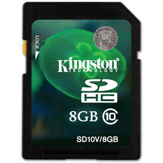 8 GB Kingston Video HD SDHC Class 10 Retail