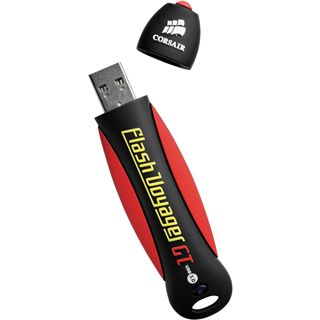 16 GB Corsair Flash Voyager GT schwarz/rot/gelb USB 3.0