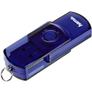 """64 GB Hama FlashPen """"Elatio"""" blau USB 2.0"""