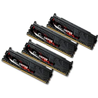 32GB G.Skill SNIPER DDR3-1866 DIMM CL10 Quad Kit