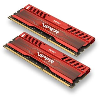 16GB Patriot Viper 3 Series Venom Red DDR3-1600 DIMM CL9 Dual Kit