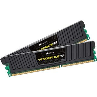 8GB Corsair Vengeance LP Series schwarz DDR3-1600 DIMM CL11 Dual Kit