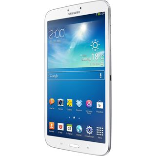 """8.0"""" (20,32cm) Samsung Galaxy Tab 3 3G/LTE/WiFi/Bluetooth V4.0 16GB weiss"""