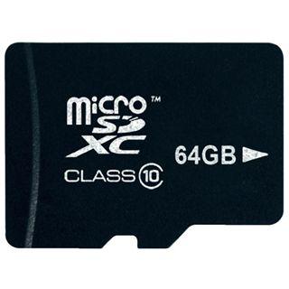 64 GB Platinum BestMedia microSDXC Class 10 Retail inkl. Adapter auf SD