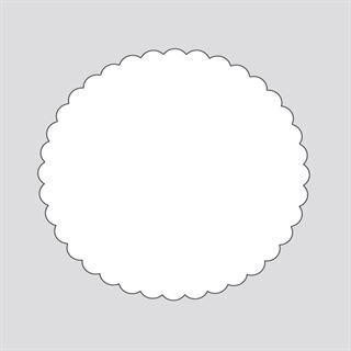 Herma Siegelmarken 50 mm weiß 1000 St.