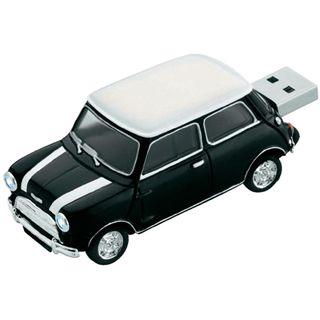 4 GB Platinum Mini Cooper schwarz USB 2.0