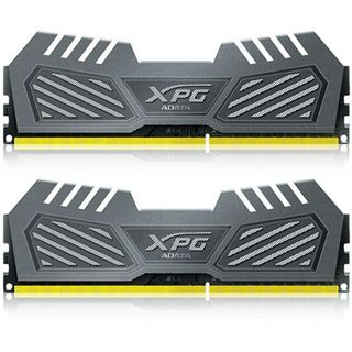 8GB ADATA XPG V2 grau DDR3-2400 DIMM CL11 Dual Kit