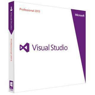 Microsoft Visual Studio 2013 Professional 32/64 Bit Deutsch Entwicklungstool Vollversion PC (DVD)