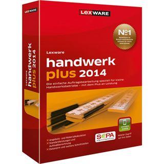 Lexware Handwerk Plus 2014 32/64 Bit Deutsch Finanzen Vollversion PC (CD)