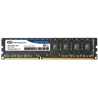 4GB TeamGroup Elite Series DDR3L-1600 DIMM CL11 Single