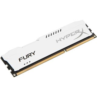 4GB HyperX FURY weiß DDR3-1866 DIMM CL10 Single