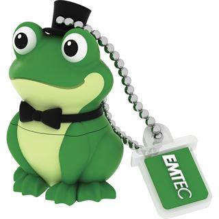 8 GB EMTEC M339 Crooner Frog gruen USB 2.0