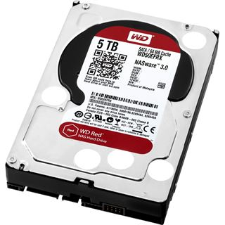 """5000GB WD Red WD50EFRX 64MB 3.5"""" (8.9cm) SATA 6Gb/s"""
