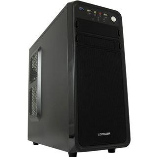 LC-Power Pro-927B Dark Purity Midi Tower 600 Watt schwarz