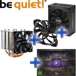 be quiet! Bundle: Power Zone + Shadow Rock 2 + Pure Wings + Starcraft II Collectors Edition
