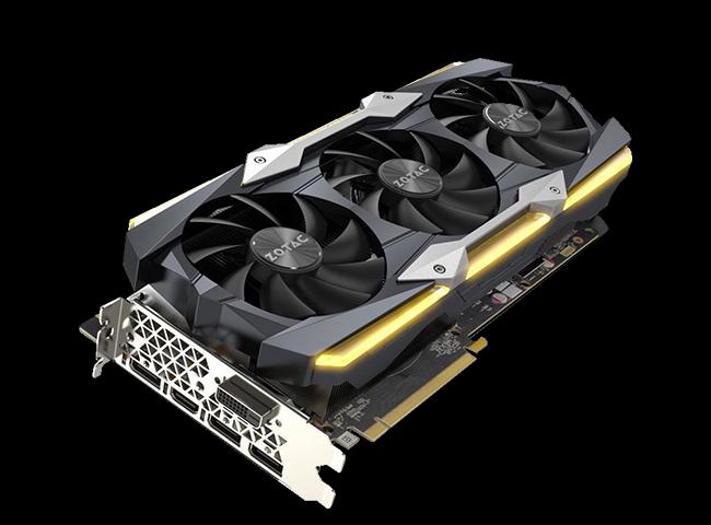 11GB ZOTAC GeForce GTX 1080 Ti AMP! Extreme Core Aktiv PCIe 3.0 x16 (Retail)